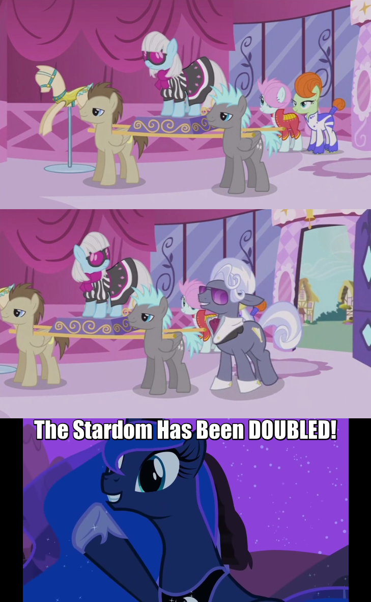 hoity toity photo finish screencap the fun has been doubled Memes princess luna comic - 9040860160