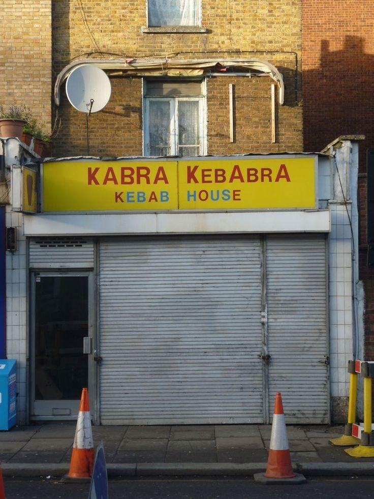 funny business names - Yellow - KABRA KEBABRA HOUSE KEBAB