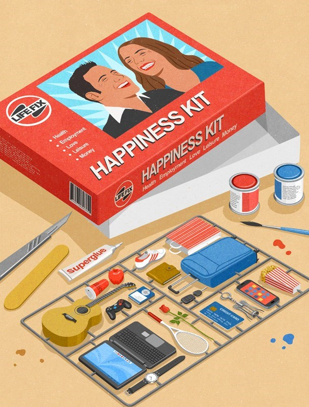 John Holcroft - Games - LIFEFIX Health Employment Love .Leisure HAPPINESS KIT KINENT Money HAPPINESS KIT IFEFIX Health Employment Lov Leisure Money superglue CREDIT CARD