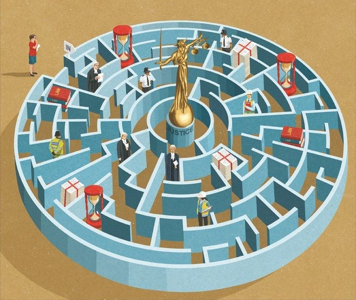 John Holcroft - Labyrinth - IN BUSTICE