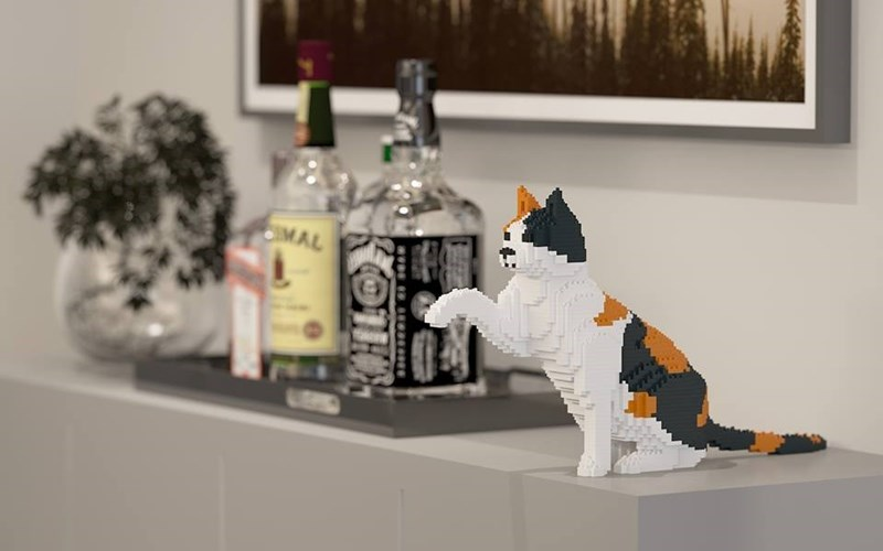 lego cats - Shelf