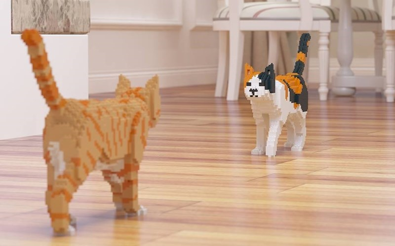 lego cats - Cat