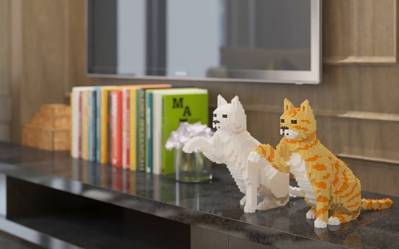 lego cats - Cat - M A