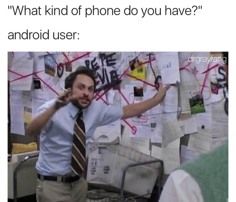 best meme about android users always needing to explain themselves