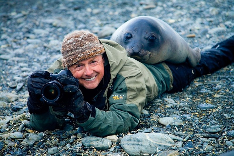 nature photographer - Harbor seal - OUNTAI HARD