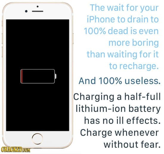 No reason to wait till you battery is low to charge it, just charge whenever is good.