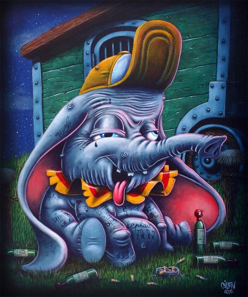 Graffiti - DUM erha CILEN 2015