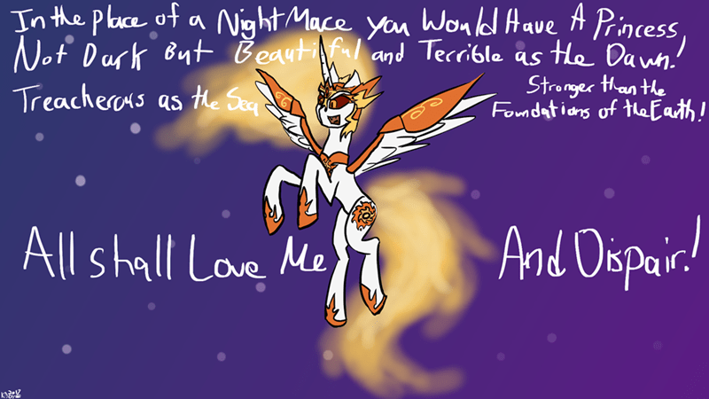changeling collective Lord of the Rings ponify daybreaker
