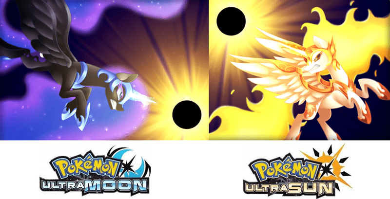 nightmare moon Pokémon scarlet-spectrum princess luna princess celestia daybreaker - 9043125760