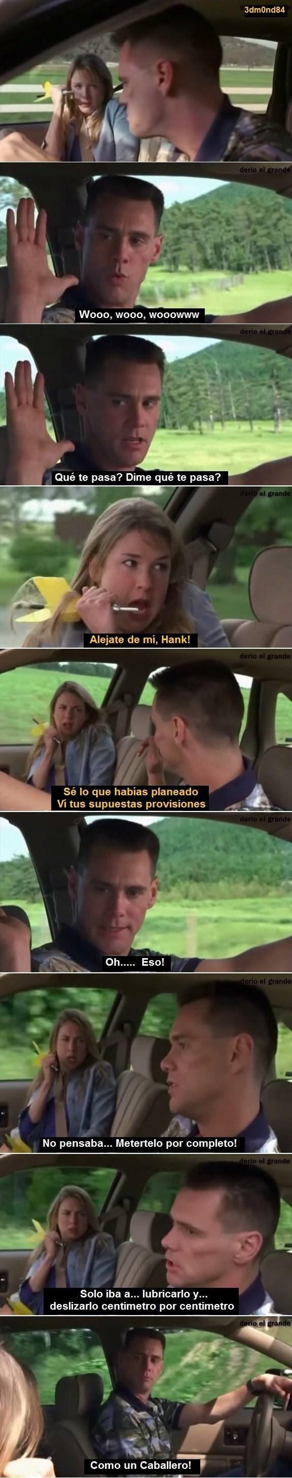 escena de la película me myself and I en espanol