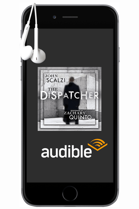 Mobile phone case - JOHN SCALZI THE DISPATCHER ZACHARY QUINTO audible