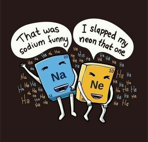 pun - Cartoon - slapped my neon that one hat was sodium tunny Ha Ha Ha 23 Ha a BH PH Ha Ha Ha Ha a Ha Ha Ha Ha He Ne 10 Ha Na Ha Ha Ha Ha Ha Ha Ha Ha Ha Ha Ha Ha the Ha Ha 11 Ha Ha Ha Ha