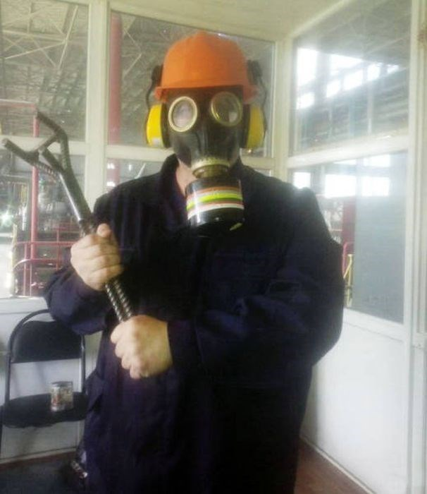 russia - Gas mask