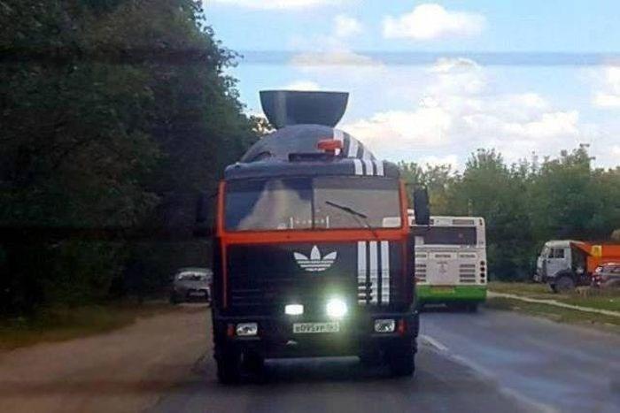 russia - Land vehicle