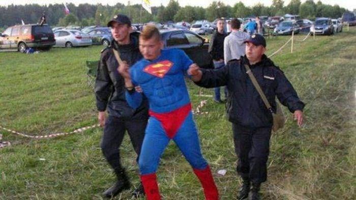 russia - Superhero