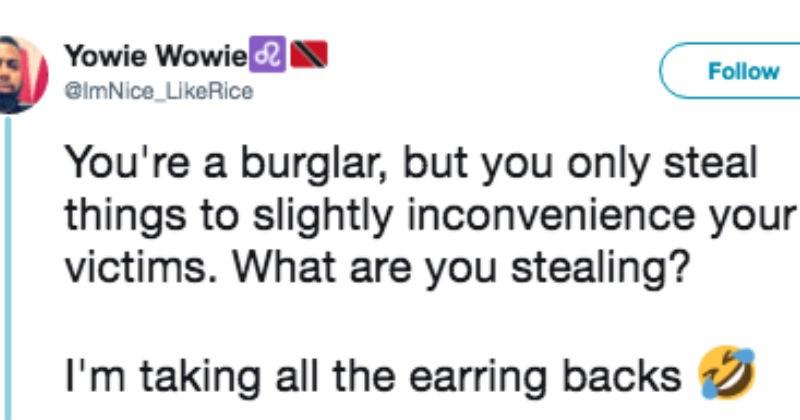 inconvenient burglar