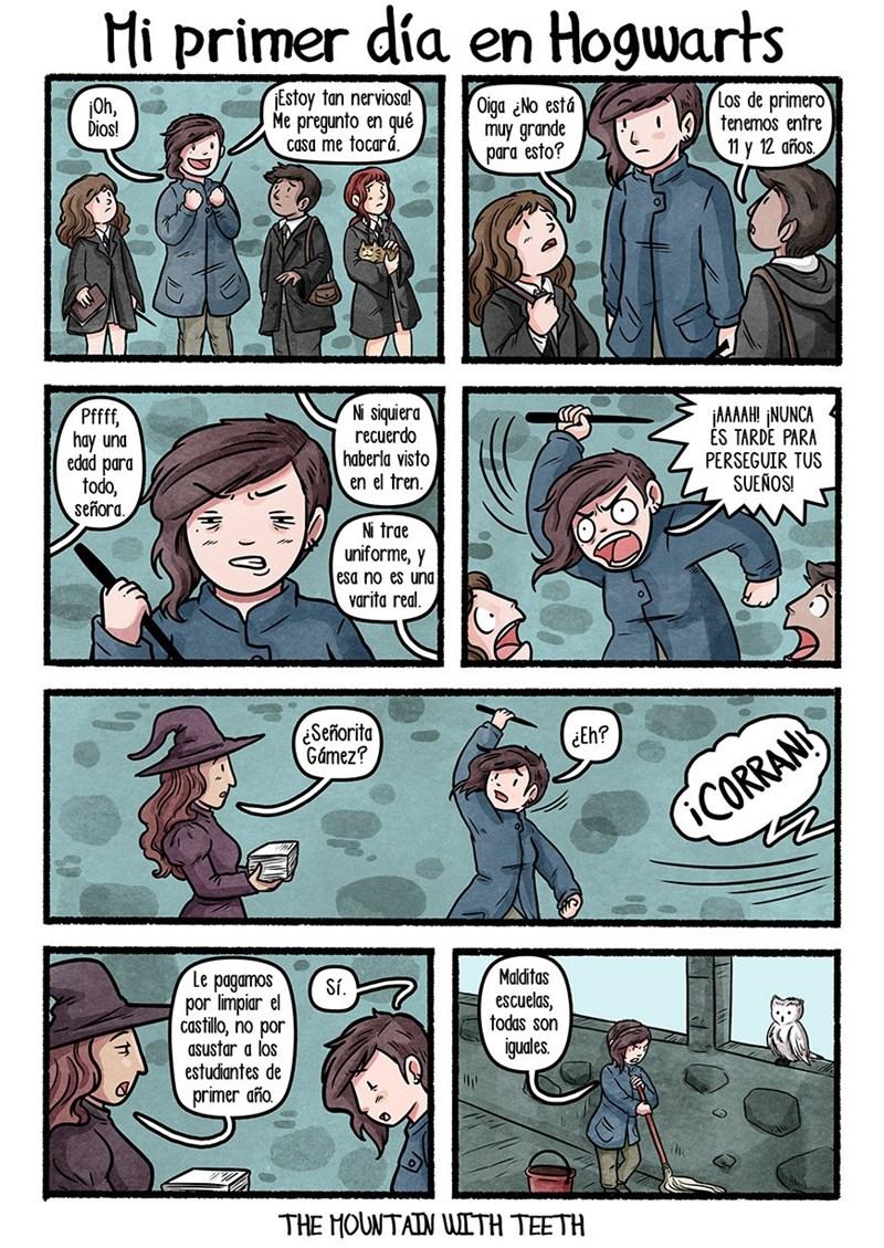 en caso de que la vida te diese la oportunidad de ir a Hogwarts