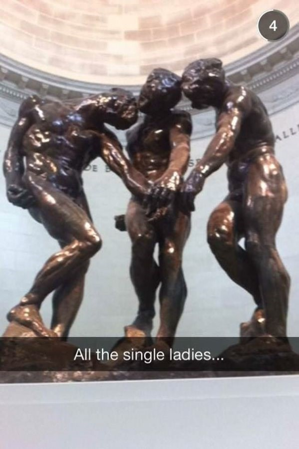 Sculpture - 4 DE ALL All the single ladies...