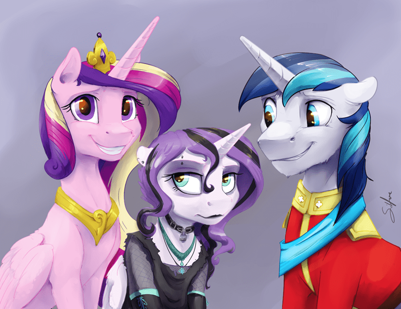 silfoe princess cadence flurry heart shining armor