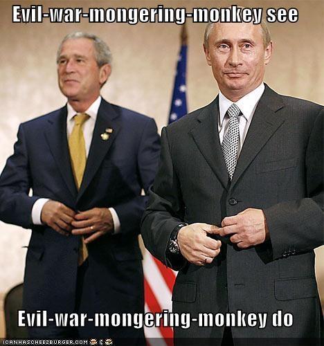 george w bush Republicans russia Vladimir Putin - 904504064