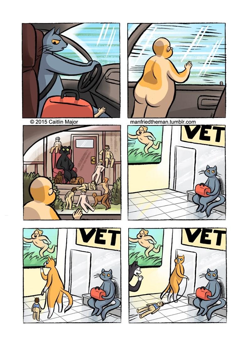 Comics - manfriedtheman.tumblr.com VET 2015 Caitlin Major VET VET Го