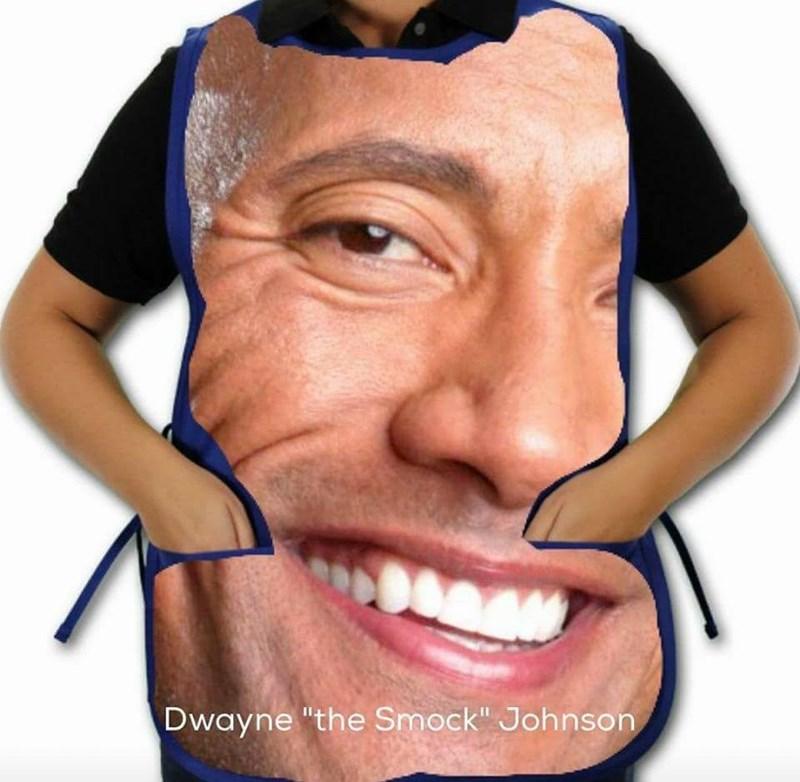 "Face - Dwayne ""the Smock"" Johnson"