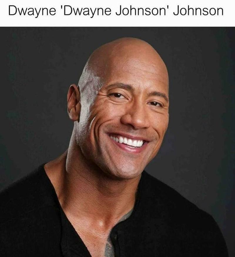 Face - Dwayne 'Dwayne Johnson' Johnson