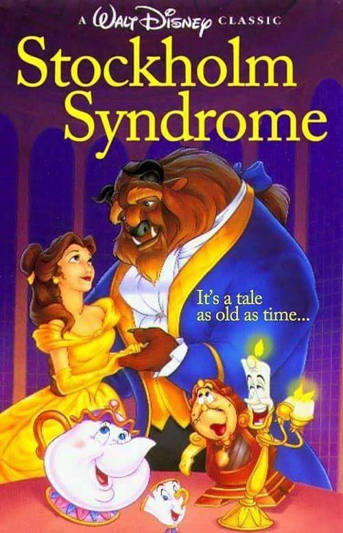 Animated cartoon - WACT iSNEp CLASSIC A Stockholm Syndrome It's a tale as old as time...