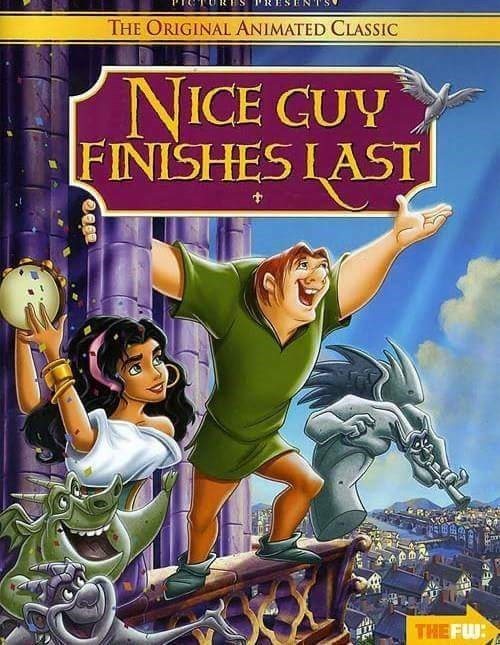 Animated cartoon - S THE ORIGINAL ANIMATED CLASSIC NICE CUY FINISHES LAST THE FW