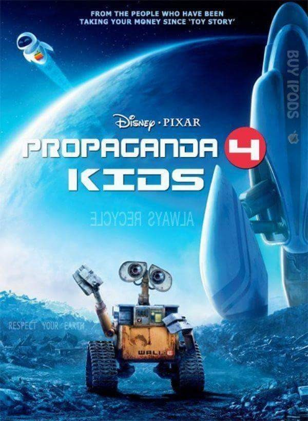 Lego - FROM THE PEOPLE WHO HAVE BEEN TAKING YOUR MONEY SINCE TOY STORY SNEP PIXAR PROPAGANDA 4 IKIDS RESPECT YOUR BARDH BUY IPODS