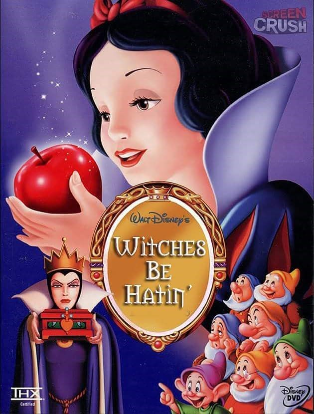 Cartoon - SCREEN CRUSH OrDNp'S WITCHES ВЕ HAIH THX DVD Certified