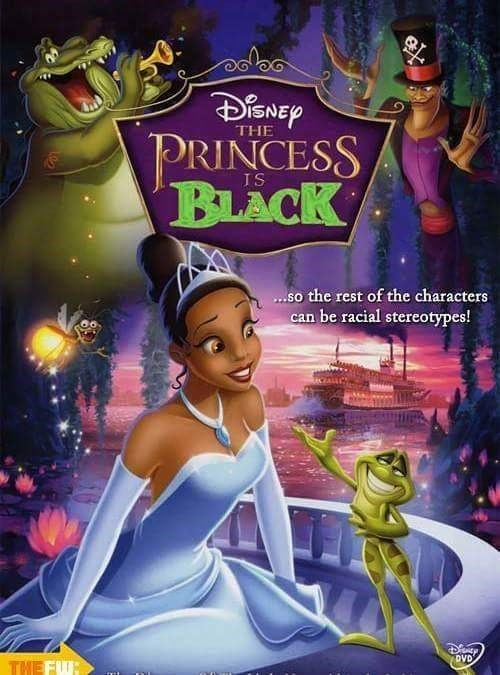 Animated cartoon - DENEP PRINCESS BLACK THE ...so the rest of the characters can be racial stereotypes! THE FW: