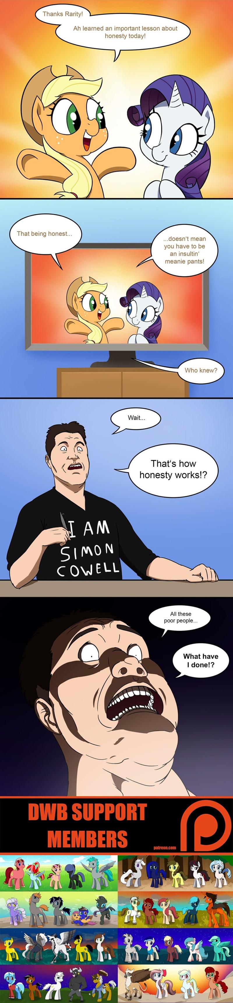 simon cowell applejack honest apple rarity comic double w brothers American Idol - 9045986048