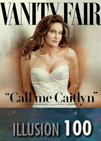 Vanity Fair cover with Caitlyn Jenner and maxed out illusion skill bar