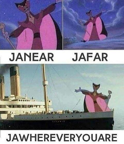 Animated cartoon - JANEAR JAFAR JAWHEREVERYOUARE