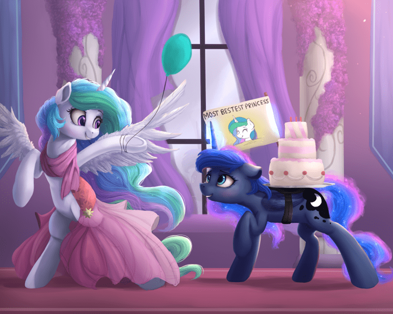 princess luna vanilla ghosties princess celestia