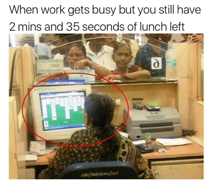 work lunch Memes - 9046800128
