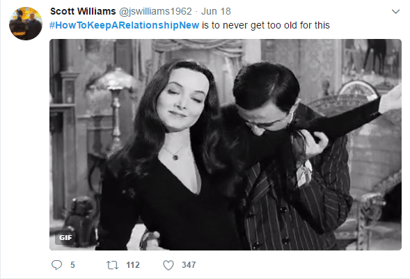 Munsters on how to keep the relationship new.
