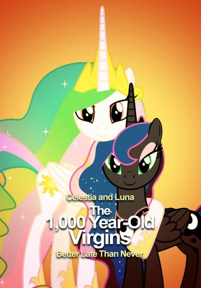 the 40 year-old virgin princess luna ponify princess celestia