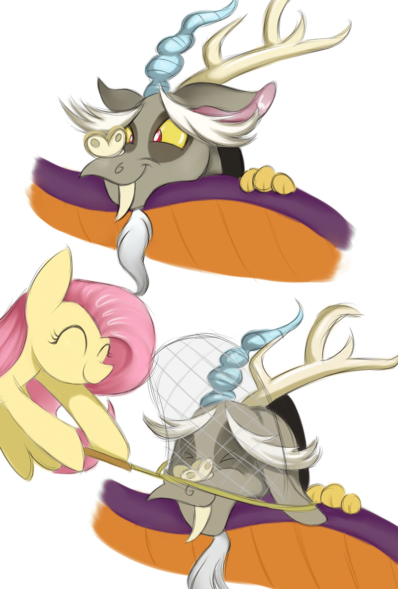 discord discordant harmony lcpegasister75 fluttershy - 9048194560