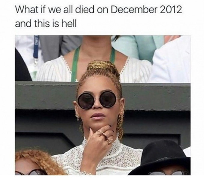 Eyewear - What if we all died on December 2012 and this is hell