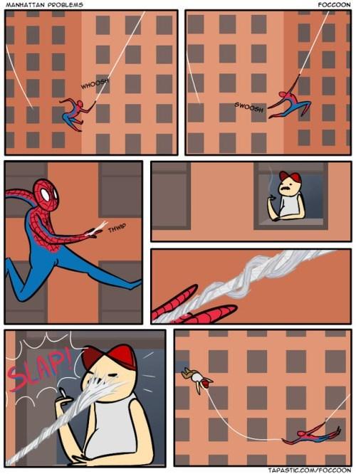 problemas de primer mundo nivel spiderman