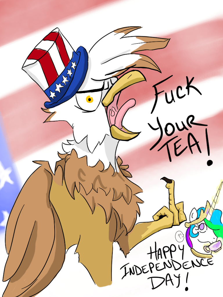 OC fourth of july princess celestia firimil - 9049660672