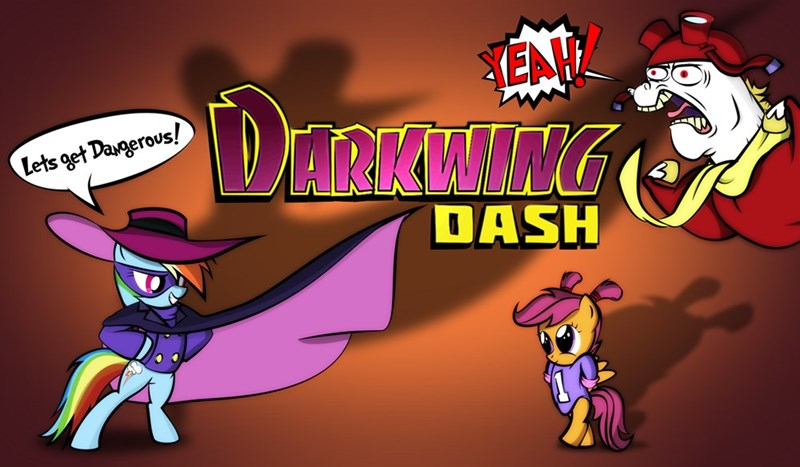 darkwing duck bulk biceps cosplay dan232323 Scootaloo rainbow dash - 9049850624