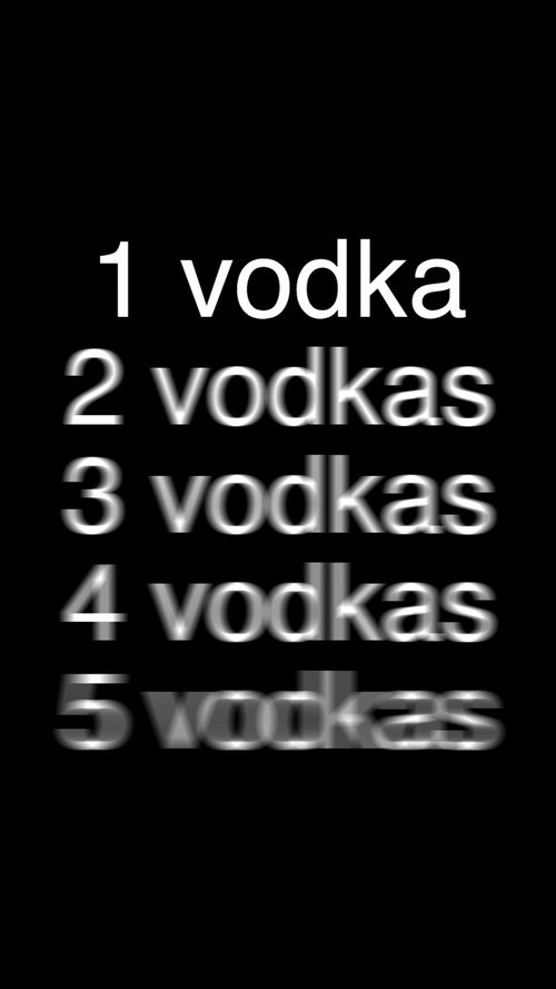 Text - 1 vodka 2 vodkas 3 vodkas 4 vodkas 5 vockas