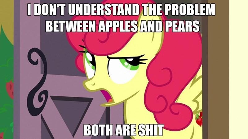 screencap honest apple strawberry sunrise the perfect pear - 9050006784