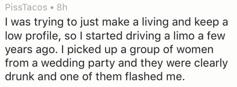 Limo driver shares his story