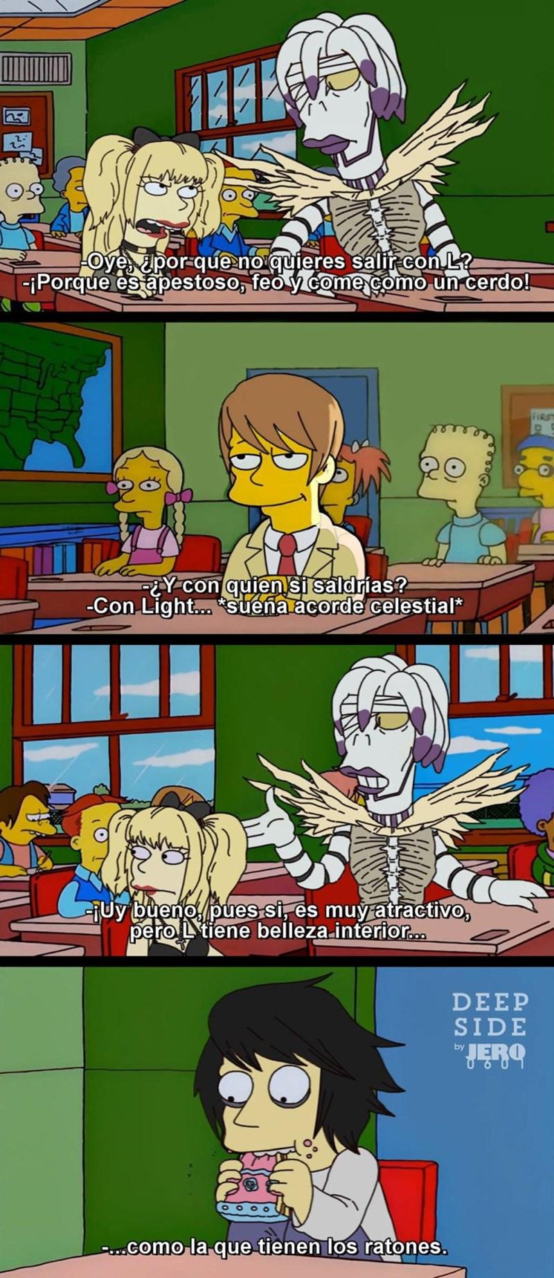 meme death note no saldrias con l por apestoso