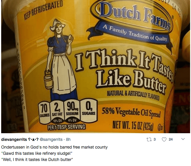 Posts about the I think it tastes like butter