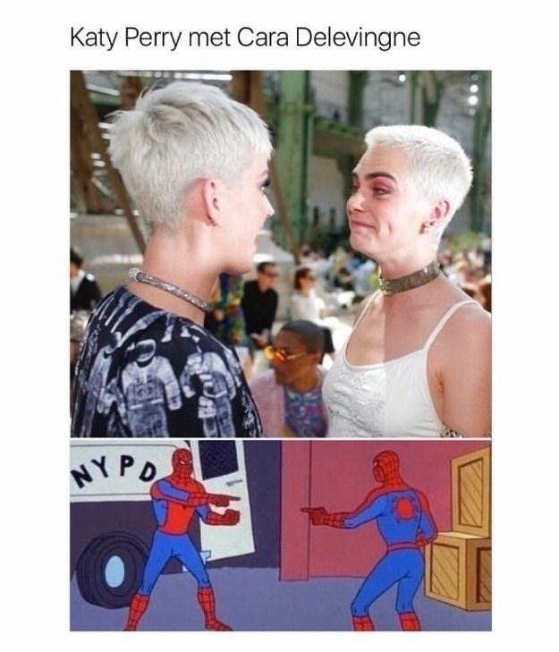 Hair - Katy Perry met Cara Delevingne NYPO